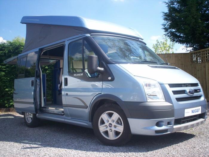 westfalia ford transit nugget campervan. Black Bedroom Furniture Sets. Home Design Ideas