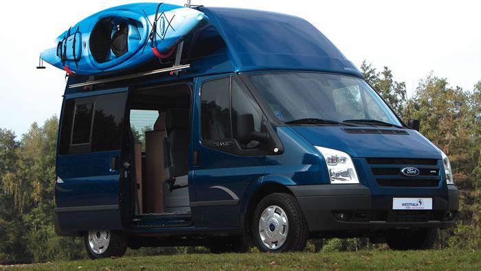 ford transit westfaila nugget high roof camper van. Black Bedroom Furniture Sets. Home Design Ideas